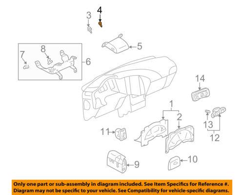 GM OEM Daytime Running Lamps-Sensor 12450120