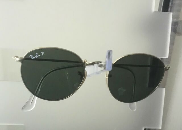 27f686f2c632b9 Ray Ban Round Metal Sunglasses Rb3447 112 58 50mm Matte Gold Polarized  Frames