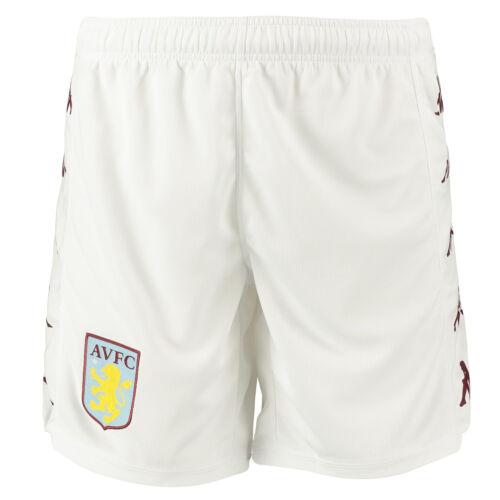 Kappa Official Mens Aston Villa FC Home Football Shorts Bottoms 2019-20