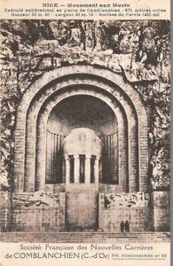NICE-Monument-aux-Morts-Societe-Francaise-des-Nles-Carrieres-de-COMBLANCHIEN