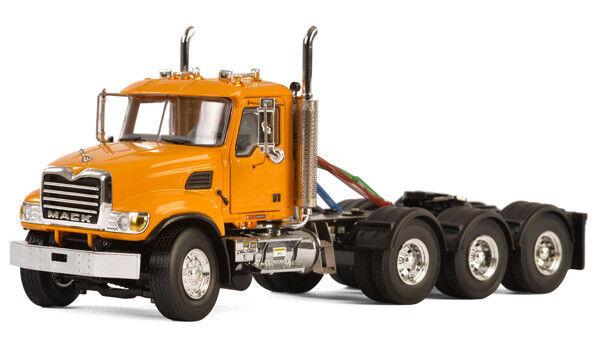 Mack Granit Camion 8x4 Jour Cab Modèle Modèle Modèle Moulé Tracteur par Wsi 1:50 Echelle   Vogue  471820