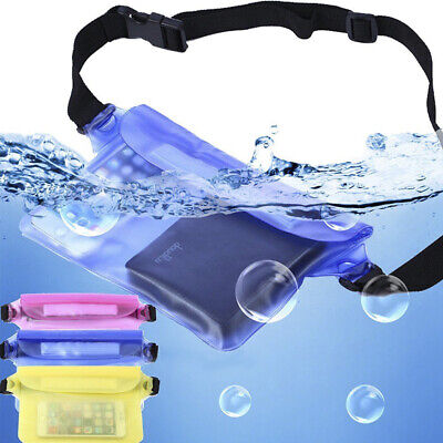 Waterproof Underwater Bag Waist Belt Bum Bags Swimming Diving Dry Pouch Out