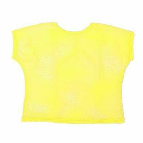 Neon mesh top Ladies Fancy Dress 80s neon Mesh Top