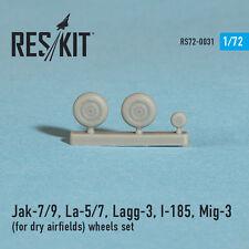 Reskit - 72-0031 - Jak-7/9, La-5/7, Lagg-3, I-185, Mig-3 (wheels set) - 1:72