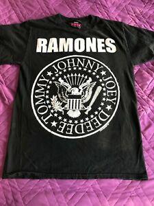 The-Ramones-shirt-Small-S-RARE-1234-Logo-Punk-Rock-Presidential-Seal