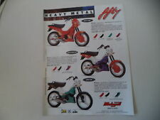 advertising Pubblicità 1991 MALAGUTI FIFTY TOP 50/FULL CX/HF
