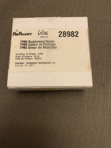 TPMS Sensor-LX Schrader Automotive 28982