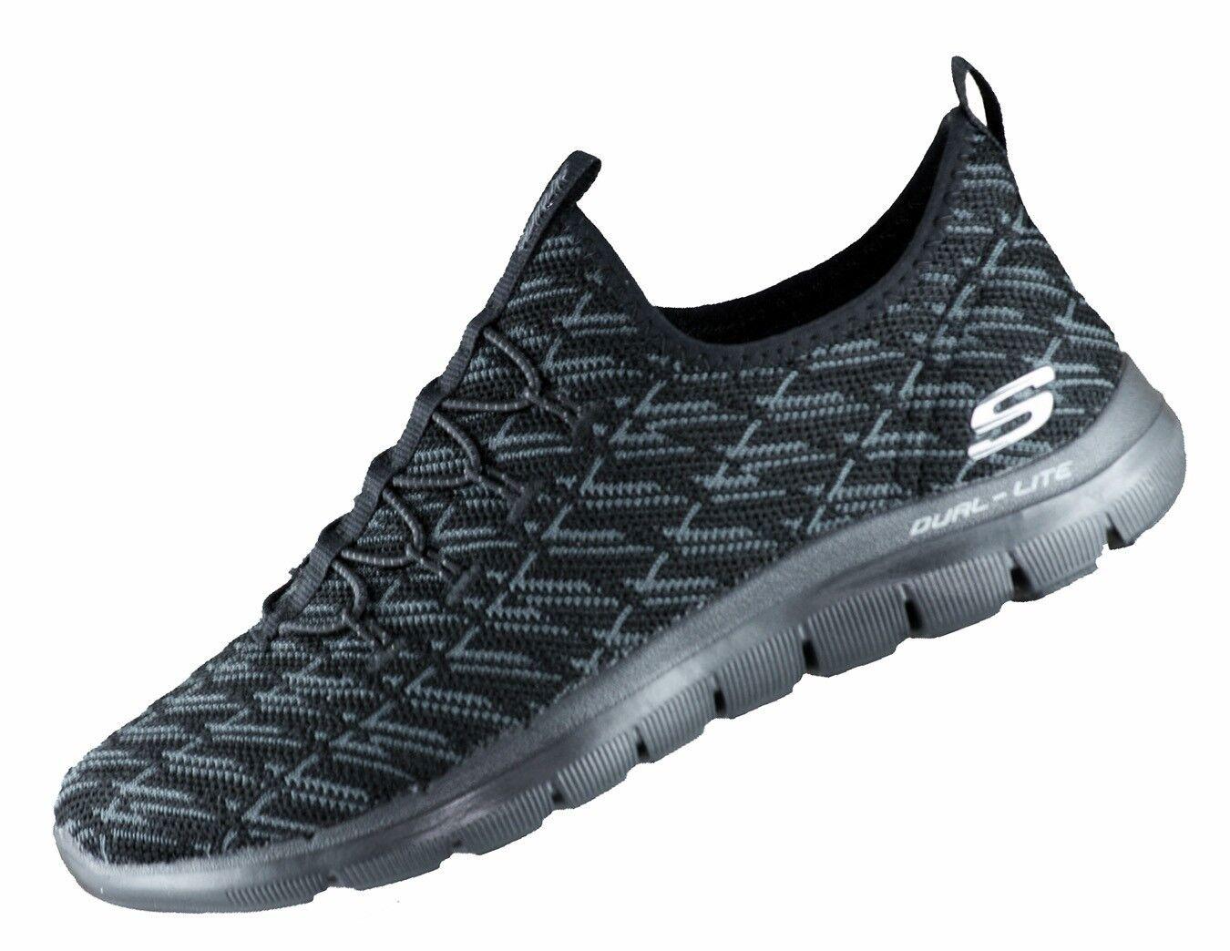 Skechers Flex Appeal 2.0 RUNNING 12765 BBK scarpe da ginnastica Memory Foam