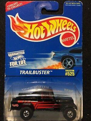 Hot Wheels Trailbuster #525 Black