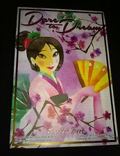 Disney Dare to Dream Beauty Book Mulan  Limited Edition Makeup Set