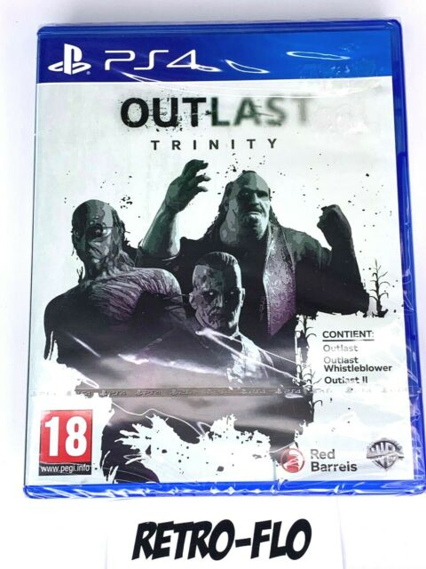 Outlast Trinity - Jeu Playstation 4 PS4 - NEUF