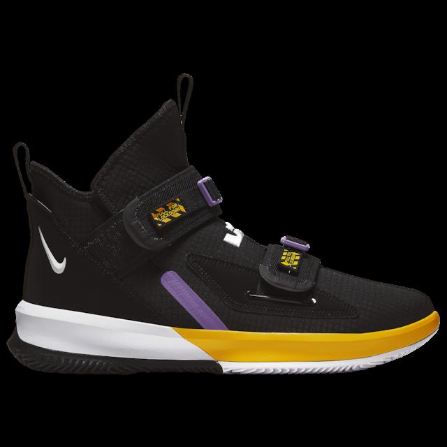 2019 Nouveau Style Nike Lebron Soldat 13 Xiii Sfg Noir/jaune Lakers Basketball Hommes 2019 All New Ventes De L'Assurance Qualité