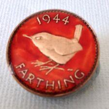 1944 Moneta Farthing SMALTATO Marcatore Pallina Da Golf. 73rd Compleanno. fatto a mano