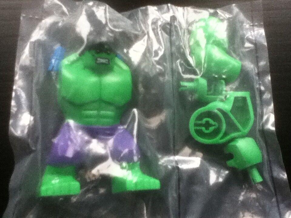 Lego Marvel Minifigure Hulk From Set 6868 Rare
