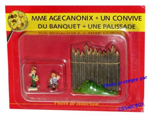 Le VILLAGE d/'ASTERIX n° 58 figurine Mme AGECANONIX figurilla figure PLASTOY