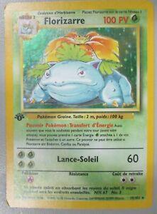 Pokemon-Venusaur-Florizarre-15-102-French-Base-Set-Holo-Rare-HP-FREE-SHIPPING
