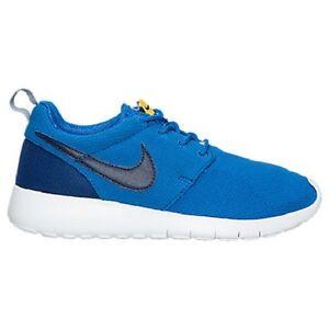 ff9c8fa97fc82 599728-417 Nike Roshe Run (GS) Shoe!! HYPER COBALT DEEP ROYAL BLUE ...