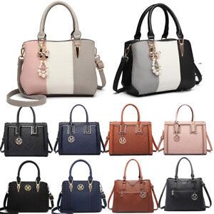 Women-Designer-PU-Leather-Shoulder-Tote-Large-Handbag-Ladies-Work-bags