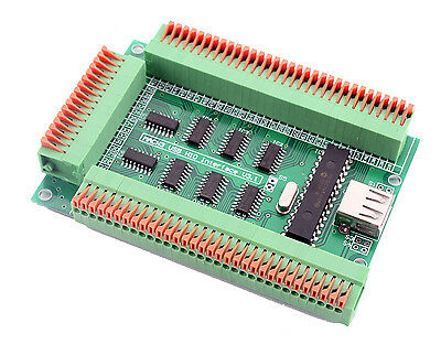 Martzis CNC Mach3 USB HID Interface Card USB Board For Mach3 and Lunix EMC