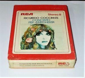 Mc-Stereo-8-RICCARDO-COCCIANTE-Concerto-per-Margherita-RCA-1976-Musicassetta