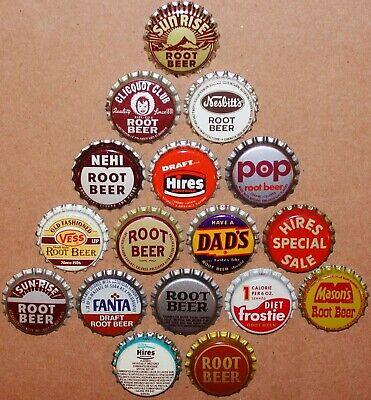 Lot of 25 Unused Fanta Root Beer Soda Bottle Caps