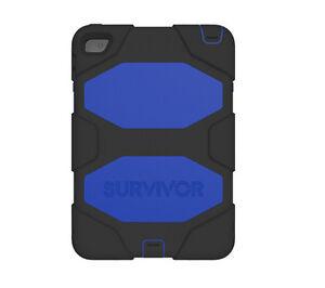 Griffin Blue Survivor Cover for iPad Mini 4 All-terrain Rugged Case