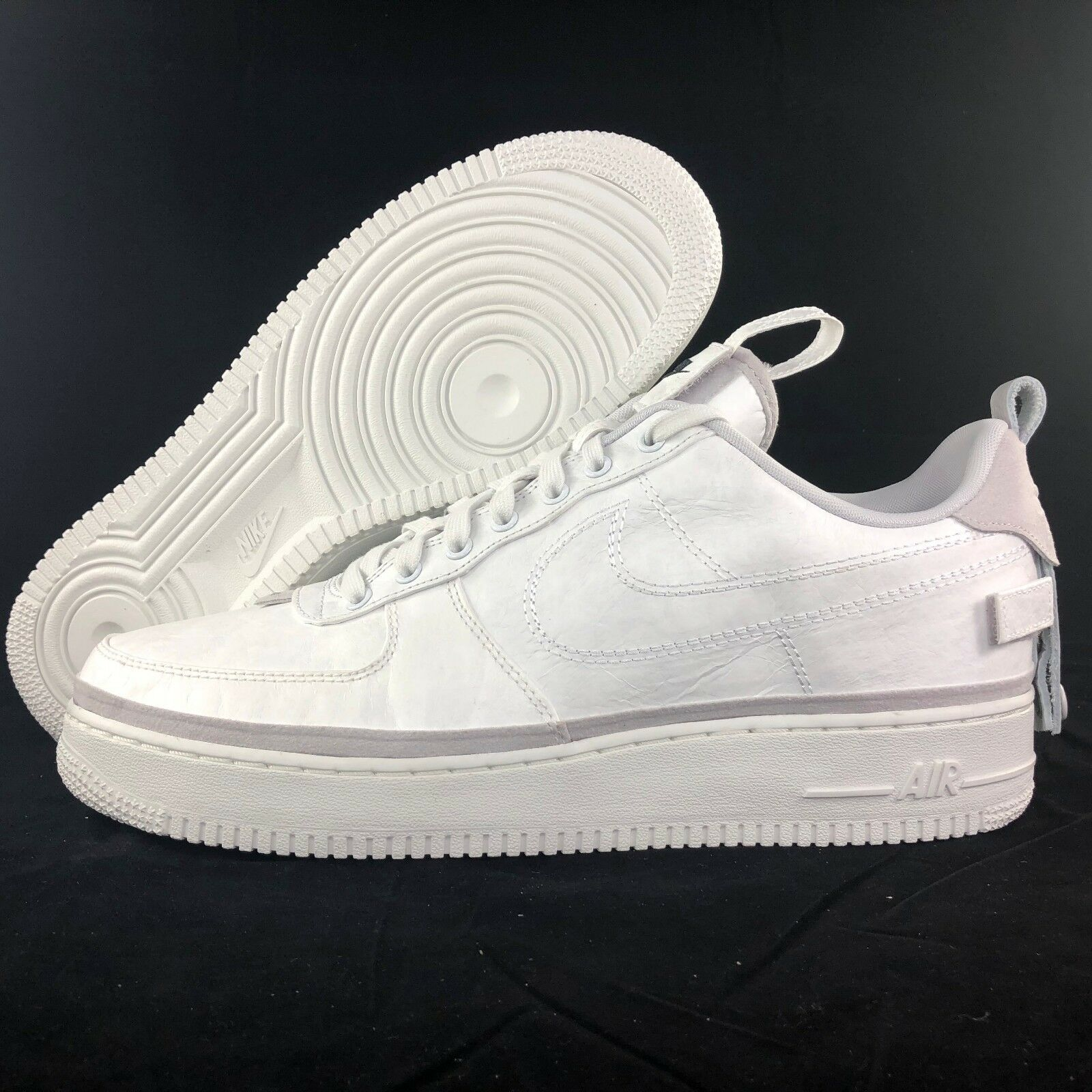 Nike Air Force 1 '07 AS QS Low 90/10 All Star Grey White AH6767-001 Men's 11-12 Great discount