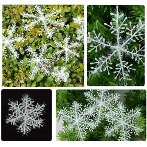 30-pcs-Classic-White-Snowflake-Ornaments-Christmas-Holiday-Party-Home-Decor