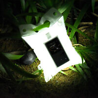 Outdoor Solar Powered Inflatable Waterproof Led Light Survival Hike Camping Lamp