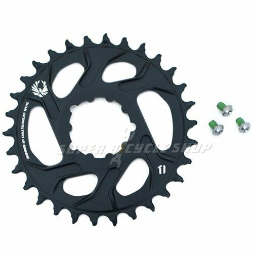 SRAM X-Sync 2 Eagle XX1 X01 Direct Mount 30T 30T 30T Chainring 3mm Offset 12 Speed,negro fecc04