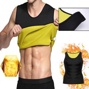 d879eb9f8a Hot Men Sweat Sauna Body Shaper Slimming Gym Vest Thermo Neoprene ...