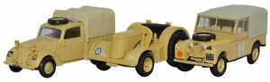 BNIB-OO-GAUGE-OXFORD-1-76-76SET23-3-PIECE-SET-TILLY-TRACTOR-amp-LAND-ROVER
