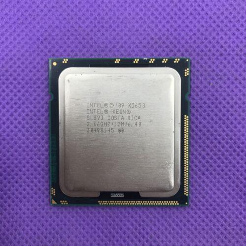 CPU Intel Xeon X5650 2.66GHz//12MB//6.40GT//s 95W LGA1366 Socket B Processor CPU