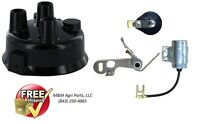 John Deere M Mt 40 320 330 420 430 440 2 Cyl Distributor Ignition Tune Up Kit