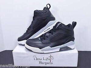 55878f67ebd2a5 Nike Air Jordan Flight 9.5 BG Grey Black White Size 6Y USED TWICE ...
