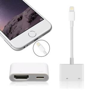 iphone to tv adapter lightning to digital av tv hdmi cable adapter for air 7094