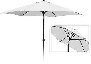 dfe7b1f7d0 Details about Top Quality 2.7M Round Garden Umbrella Garden Parasol Sun  Shade Crank Handle