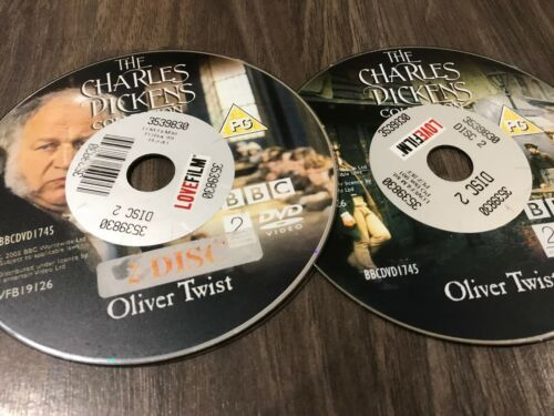 1 of 1 - The Charles Dickens Collection  - DVD - Oliver Twist 2 Disk Set, Disks Only