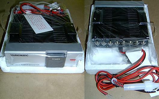 Sparkomatic Car Stereo 40 Watt Power Amplifier - Booster Lc52 Lc-52 for  sale online | eBayeBay