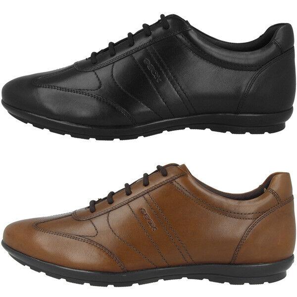 GEOX U Symbol B Schuhe Men Herren Halbschuhe Schnürschuhe Sneaker U74A5B00043C