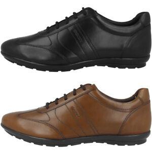 Details zu GEOX U Symbol B Schuhe Men Herren Halbschuhe Schnürschuhe Sneaker U74A5B00043C