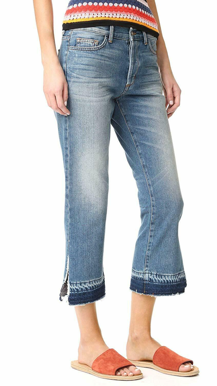 SIWY DENIM Jane B Retro Crop Straight Jeans Once More Chance bluee 24