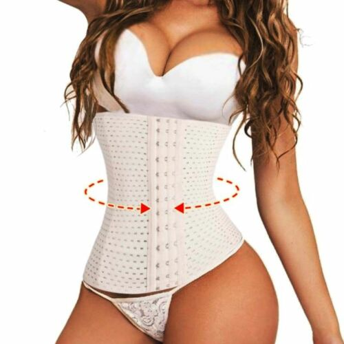 Details about  /Corset Waist Trainer Training Body Shaper Belt Shapewear Underbust Cincher Tummy