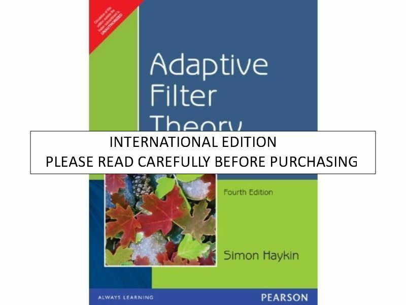 Adaptive Filter Theory Simon Haykin 4th Edition Pdf