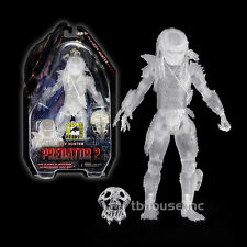"8"" CLOAKED CITY HUNTER ghost PREDATOR 2 figure 2012 SDCC EXCLUSIVE aliens NECA"