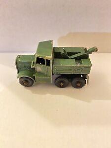 Matchbox Lesney No Modelo 64 un camión de ruptura Scammel (542)