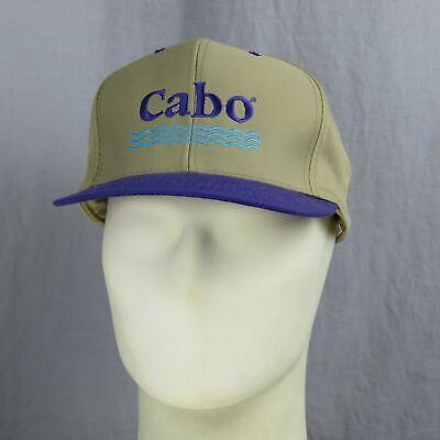 Di Animo Gentile Vintage Cabo San Lucas Mexico Ricamato Cappellino Da Baseball