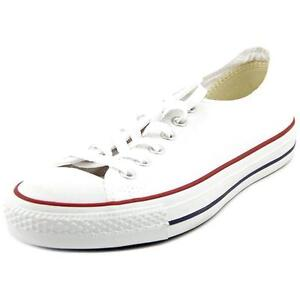 744d71b8e0e Converse Chuck Taylor All Star Ox M7652 Optical White Shoes Mens 3.5 ...