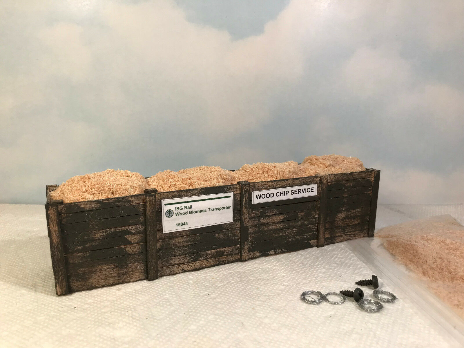 O SCALE Load for Lionel K-Line Rail King gondola bulkhead and flat cars (6055-9)
