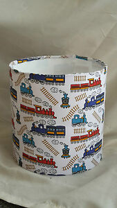Kids steam train lampshade ebay image is loading kids steam train lampshade aloadofball Choice Image